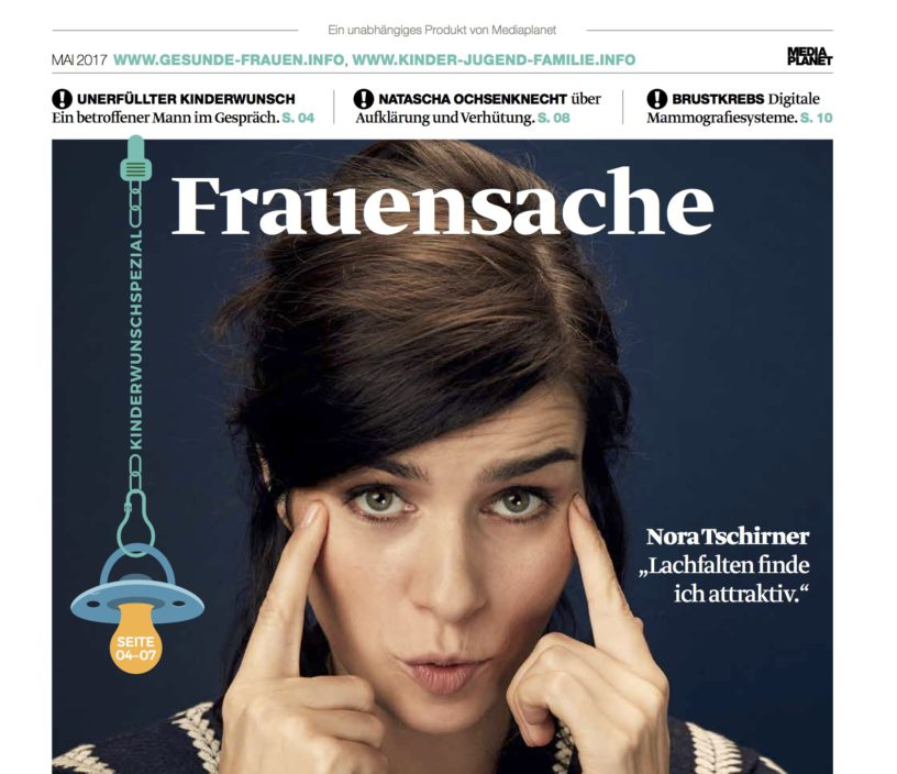 Cover der Kampagne Frauensache