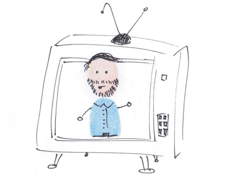 Helge im TV
